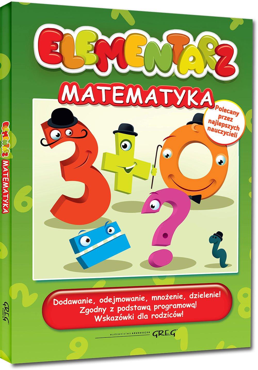 Elementarz matematyka ebook