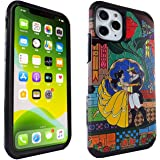 iPhone 11 Pro Case Beauty and The Beast Dual Layer Hybrid Shockproof Slim Fit Armor Case Cover for iPhone 11 Pro 5.8 inch