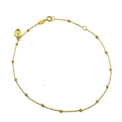 Amazon.com: lovebling oro amarillo de 10 K .50 corte de ...