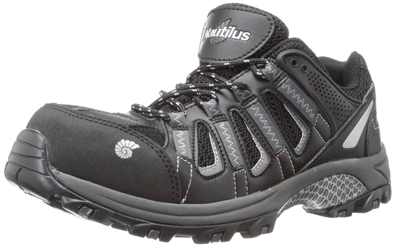 Nautilus Safety Footwear メンズ B00BQRJ7XM 9 2E US|ブラック/グレー ブラック/グレー 9 2E US