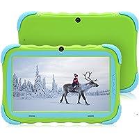 7 Pulgadas Android 7.1 Tablet para niños IPS HD Screen 1GB/16GB Babypad Edition PC con WiFi y Cámara y Juegos Google Play Store Bluetooth Compatible Kids Proof Case GMS Certified (Verde)