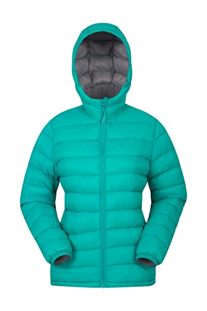 db8d3a77e301 Mountain Warehouse Seasons Womens Padded Winter Jacket - Water ...