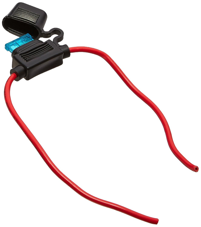 15A 12V BH708 Model Car Blade Fuse Holder Block w 14# AWG Wire ...
