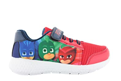 Entertainment One PJ Masks Boys Gillan Low Top Sports Trainers Red UK 9 Infant