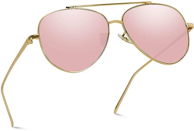 WearMe Pro - Bonitas gafas de sol estilo aviador con lentes ...