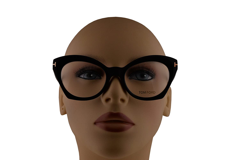 35043282c39b9 Amazon.com  Tom Ford FT5456 Eyeglasses 52-19-140 Matte Black w Demo Clear  Lens 002 TF5456 FT 5456 TF 5456  Clothing