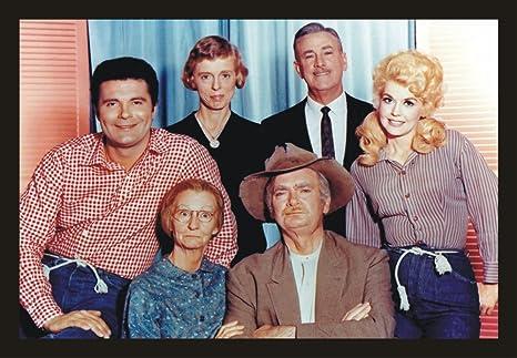 Beverly Hillbillies Tv Show Cast Buddy Ebsen Jed Granny