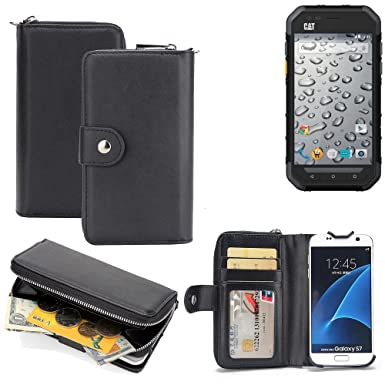 check out bcf95 7a1c1 K-S-Trade 2in1: Caterpillar Cat S30 Mobile Phone Case & Wallet ...