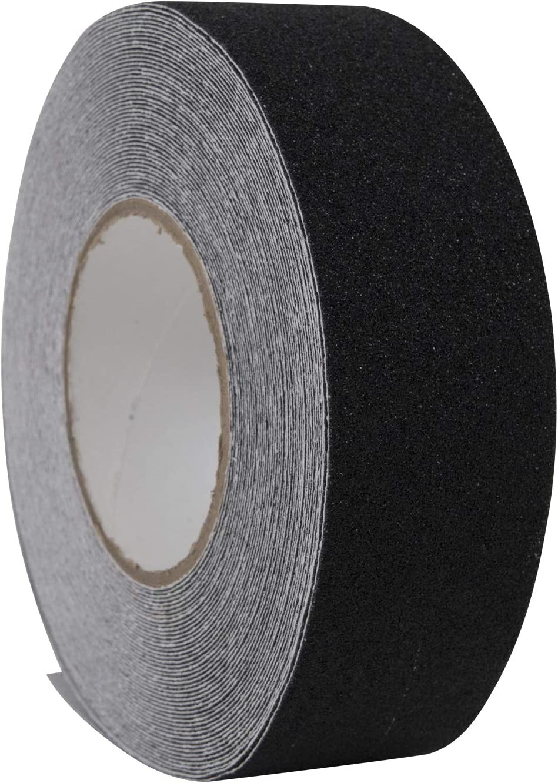 "Anti Slip traction tape = 1/"" x 180/"" = approx 100 grit grain Graphite color"