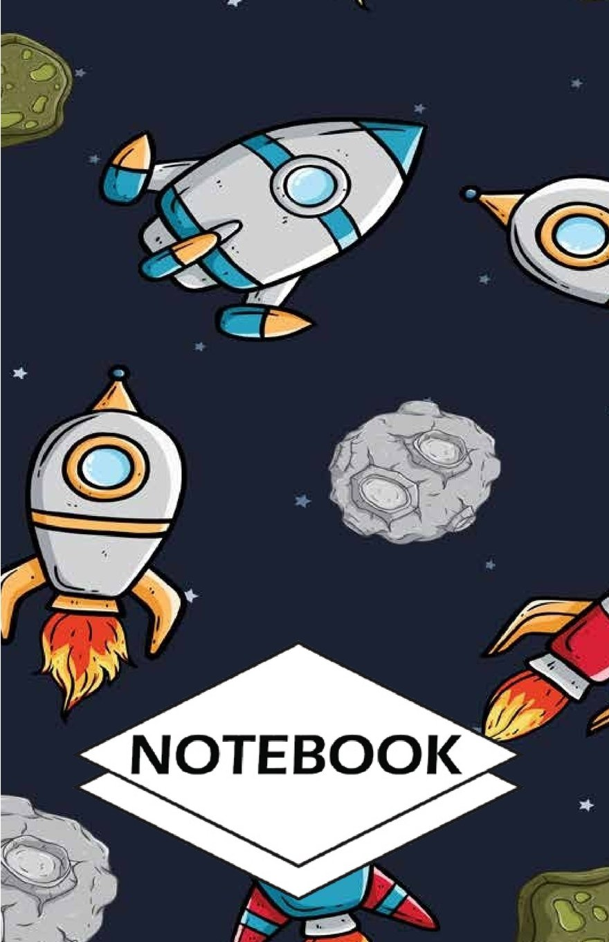 """Download Notebook: Planets moon : Small Pocket Diary, Lined pages (Composition Book Journal) (5.5"""" x 8.5"""") PDF"""