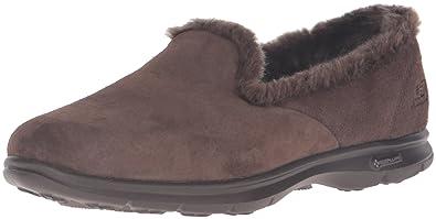 18959cbb45 Skechers Performance Women's Go Step Velvety Walking Shoe,Chocolate,7 ...