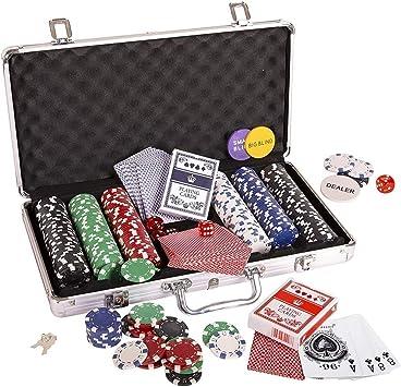 LLSZ 300pcs último fichas de póquer Conjunto con generación de ...