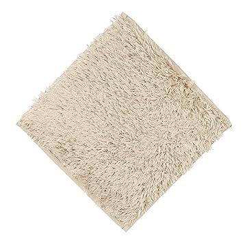 Winkey Alfombra de suelo de 30 x 30 cm, absorbente, suave, para baño