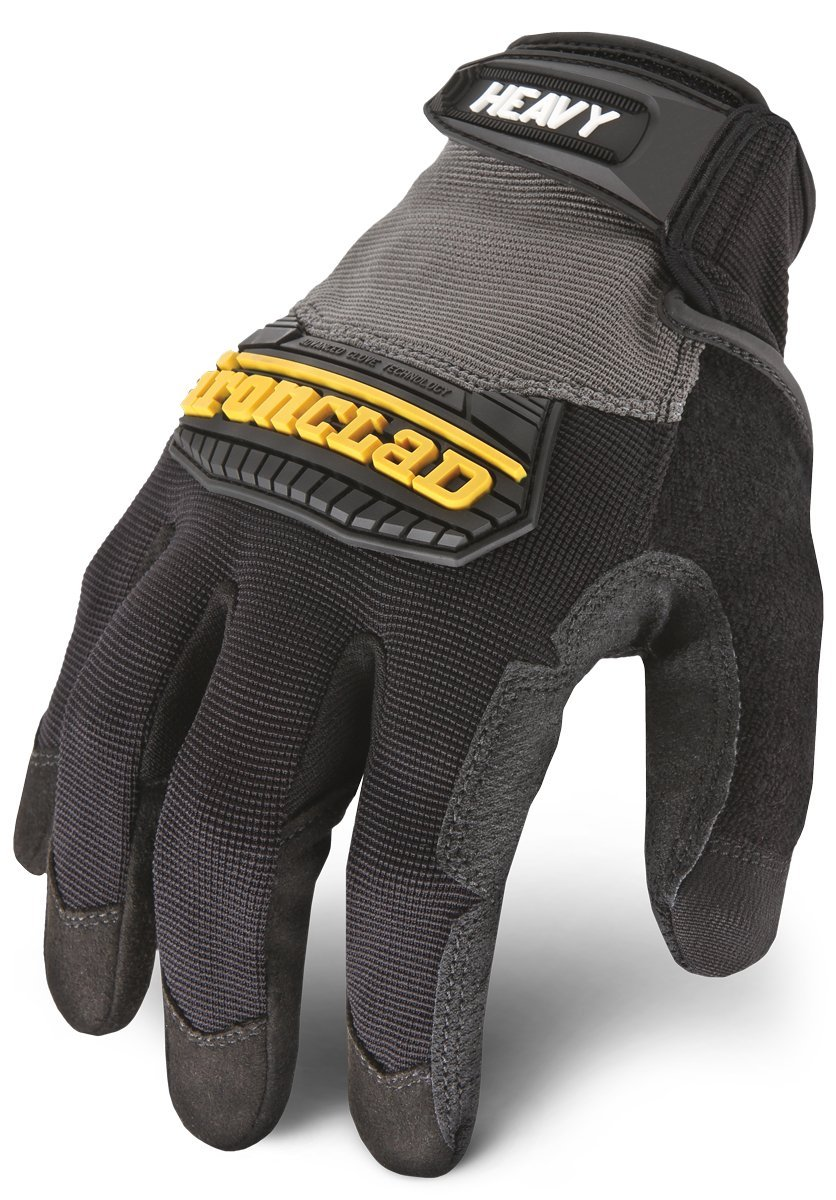Ironclad Heavy Utility Work Gloves HUG-04-L, Large