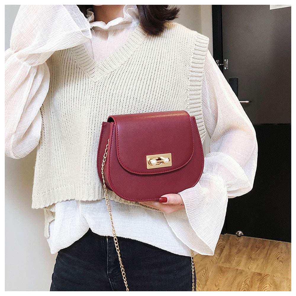 Woman Fashion Panelled Button Simple Design Shoulder Bag Messenger Bag,Outsta 2019 Deals Fashion Bags