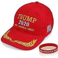 Sumyer Chapeau MAGA, Chapeau Donald Trump, Poignet Grand Chapeau américain 2020