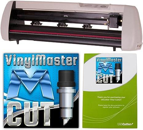24-Inch uscutter SC Series cortador de vinilo Plotter con – diseño de corte vinylmaster & Cut Software: Amazon.es: Oficina y papelería