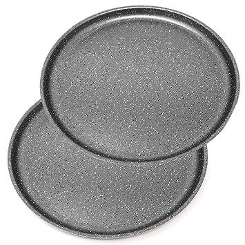 Menax Focus - Molde de Horno para Pizza - Aluminio - 5 Capas de ...