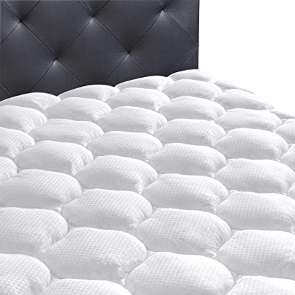 Amazon Com Ecomozz Twin Xl Mattress Pad Cover With 8 21 Deep