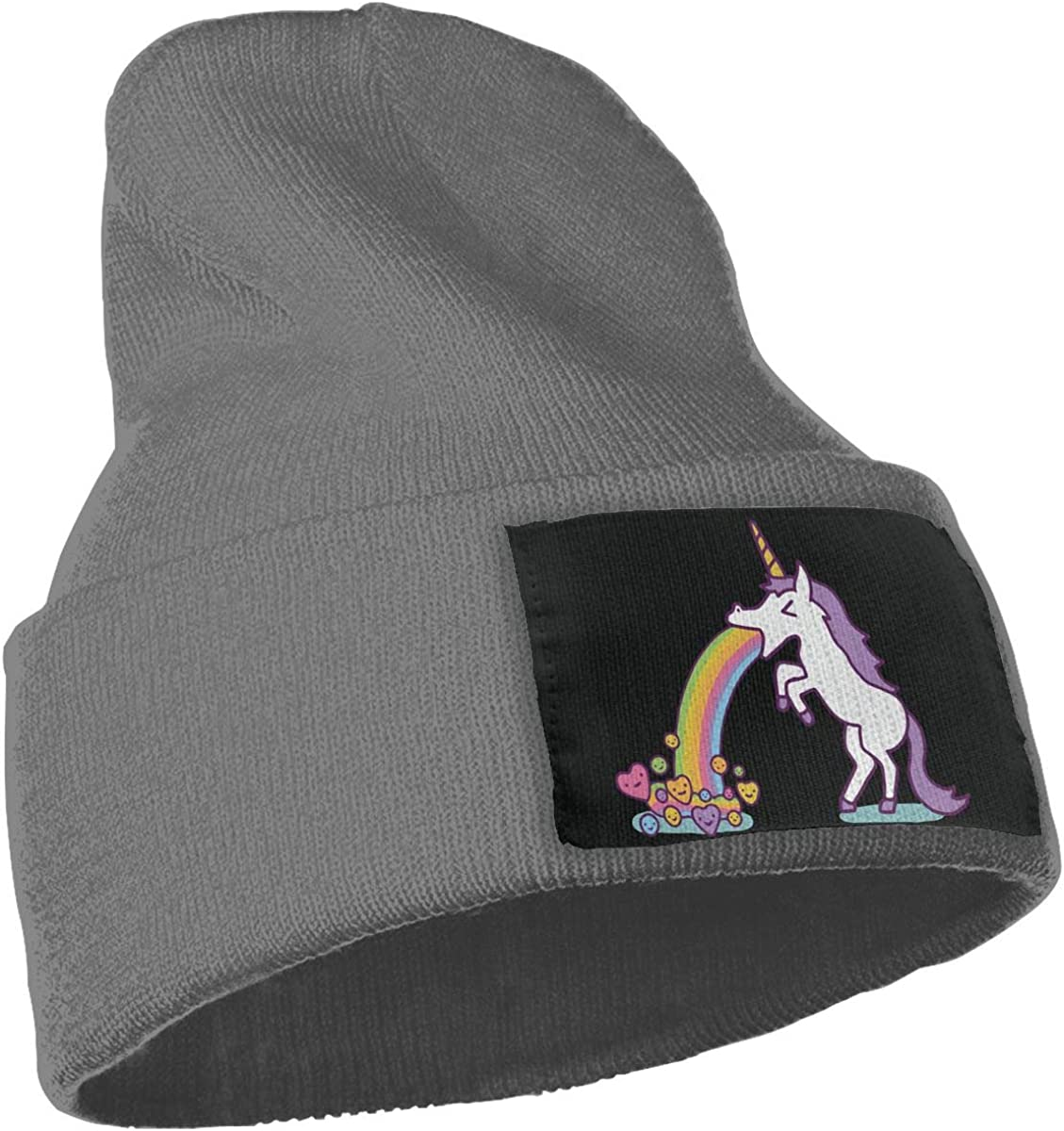 Unicorn Spit Rainbow Sugar Warm Winter Hat Knit Beanie Skull Cap Cuff Beanie Hat Winter Hats for Men /& Women