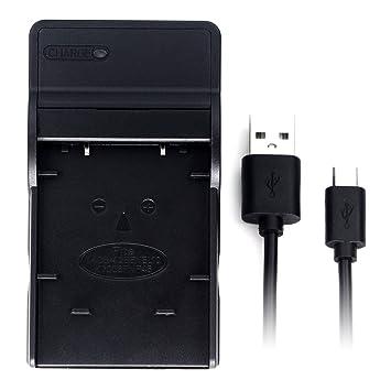 EN-EL10 USB Cargador para Nikon Coolpix S200, S203, S210, S220, S230, S3000, S4000, S500, S510, S5100, S520, S570, S60, S600, S700, S80 cámara