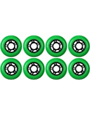 Inline Skate Replacement Wheels Amazon Com