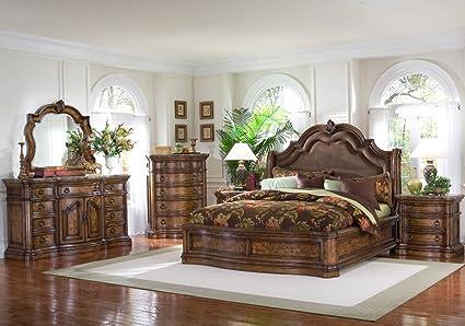 Beau Pulaski San Mateo Platform Bedroom Set   5 Pc. (King)