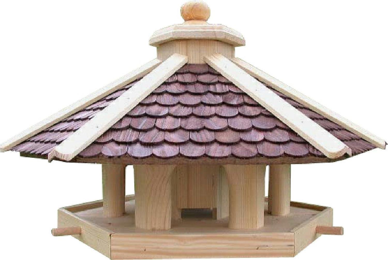 GlamAlms ,wunder schönes Vogelhaus-Futterhäuschen grosses 65cm x 37cn zum Stellen
