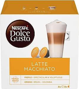 NESCAFÉ Dolce Gusto Latte Macchiato Coffee Pods, 16 Capsules (8 Serves) 194.4g