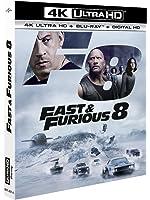 Fast and furious 8 4k ultra hd [Blu-ray]