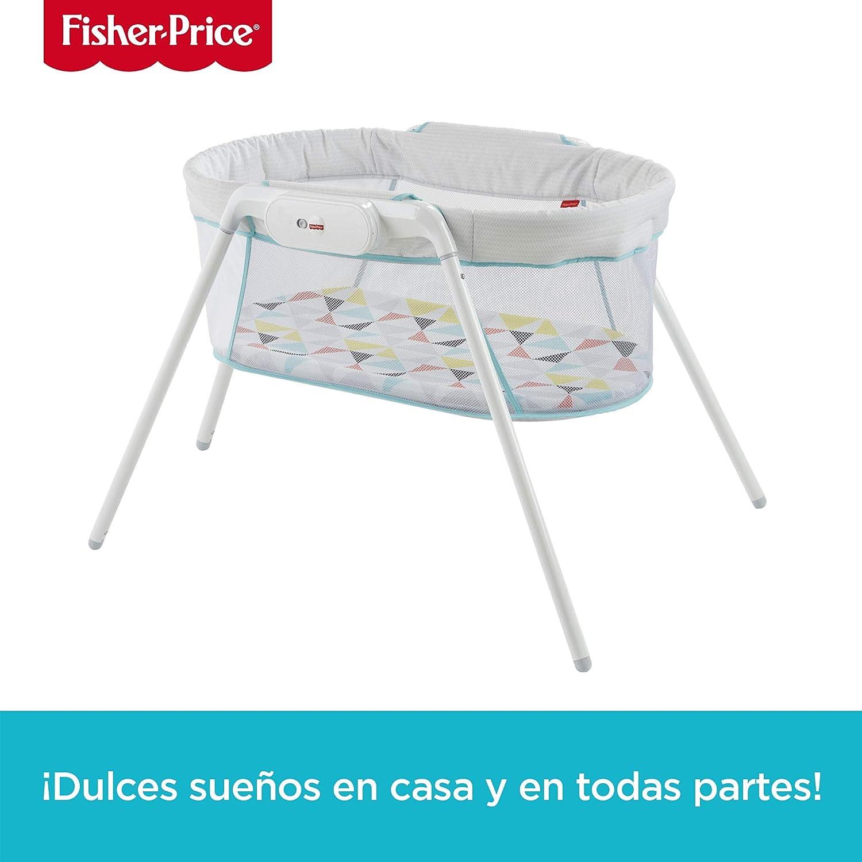 Fisher-Price Cuna De Viaje para bebé recién nacido (Mattel GBR67): Amazon.es: Bebé