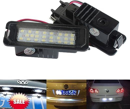 09-15 Toyota Prius Rear Number Plate Bulbs Pair Reg Plate Bulb Light Lights