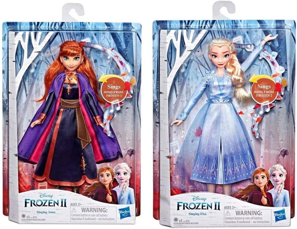 Amazon.es: Frozen 2 17100-P - Muñecas Cantantes (2 Unidades ...