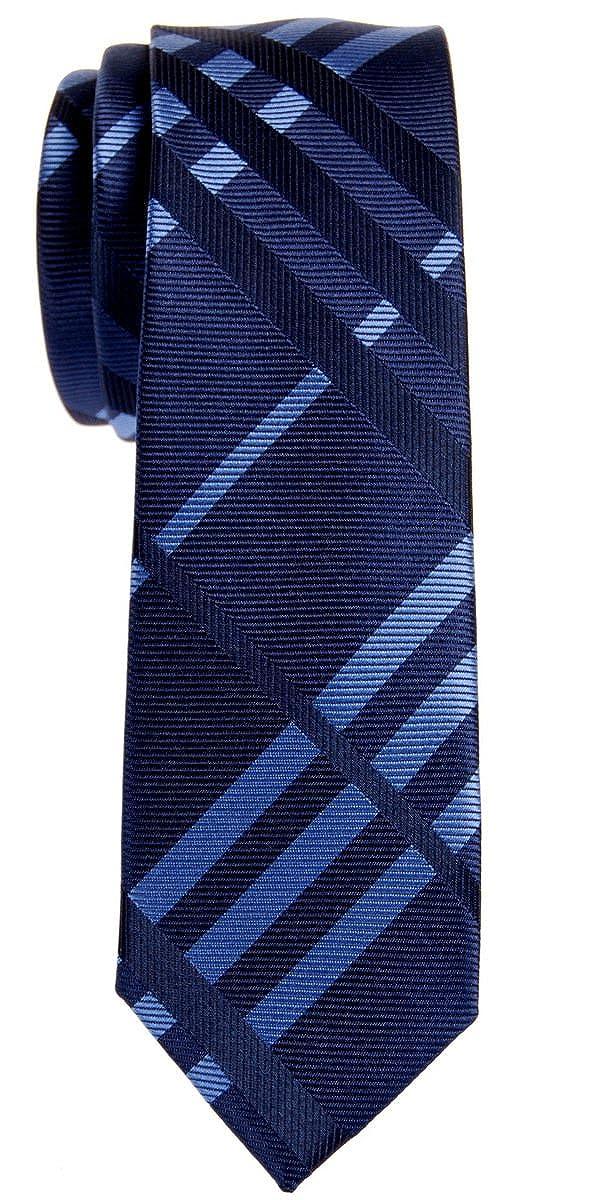 Corbata Retreez de cuadros escoceses, microfibra, pequeño nudo ...