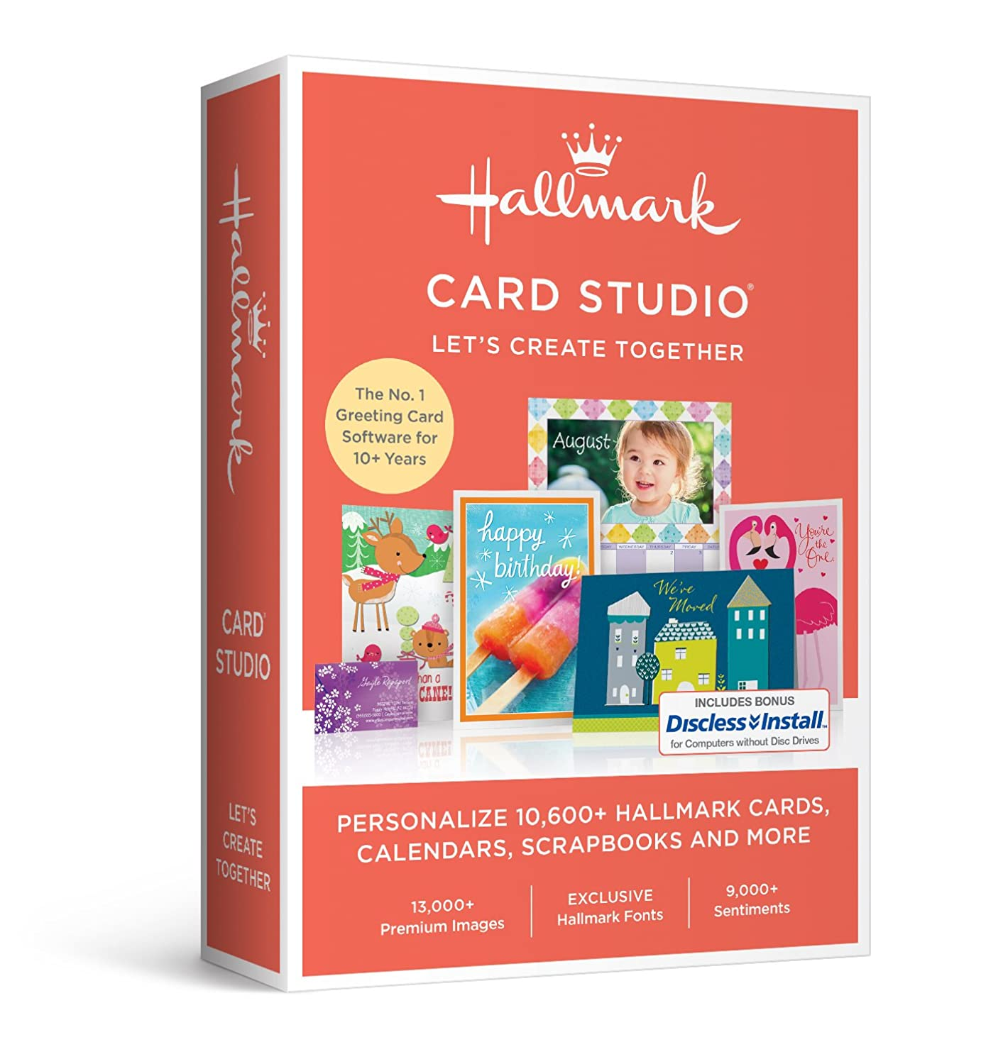 Amazon greeting cards home publishing software hallmark card studio 2017 kristyandbryce Image collections