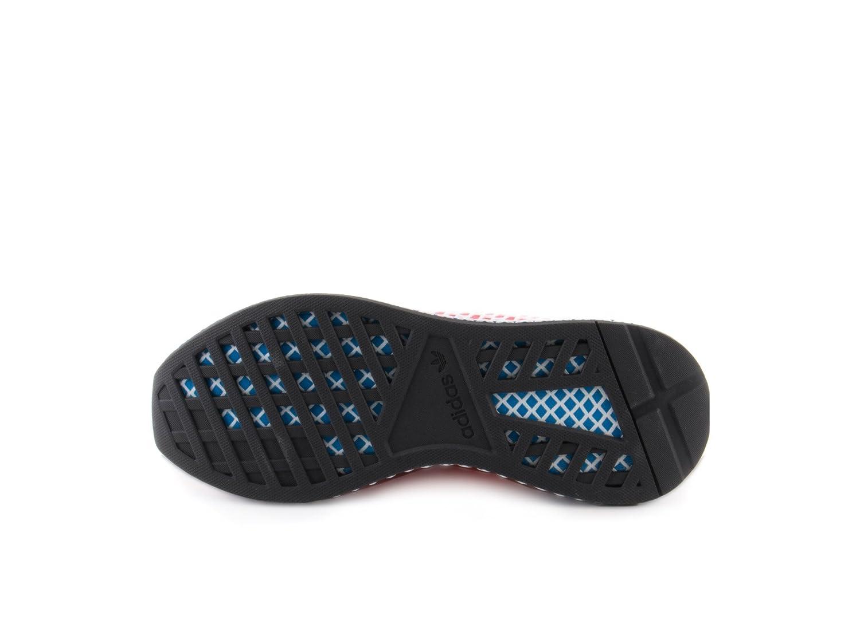 low priced d836e dd6ba Adidas Deerupt Runner Originals Zapatillas de Running para Hombre, Solar  RedBlue Bird, 7 D(M) US Amazon.com.mx Ropa, Zapatos y Accesorios