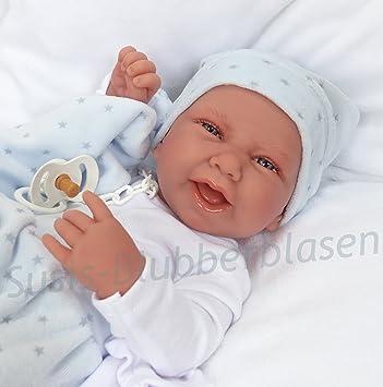 Muñecas Antonio Juan - Muñeco realista recién nacido, Multicolor
