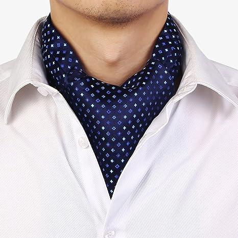 LIANGJUN Elegent Seda Corbata Bufanda Hombres Corbata Camisa Bufanda Boda Oficina Ocasiones Formales, 9 Tipos Disponibles, 128X15cm (Color : 5#)