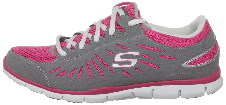 Skechers Damen Gratis Purestreet Sneaker, grau