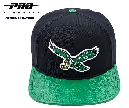 Image Unavailable. Image not available for. Color  PRO-STANDARD NFL Philadelphia  Eagles Official Super Bowl Champions Premium Leather Black Green Cap 89d13e338