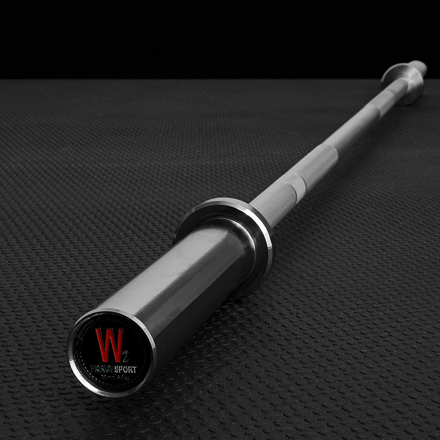 15lb Training Barbell by Fringe Sport Entry Level Bar for Novice Lifters, Teens, and Children
