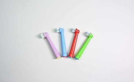 Oral-Q estándar recambios cabezales para cepillos de dientes eléctricos para niños para para Braun