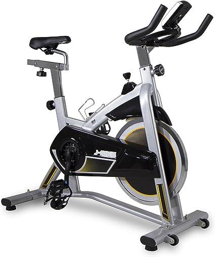 BH Fitness MKT J Bike Bicicleta Indoor, Unisex-Adult, Plata, Talla ...