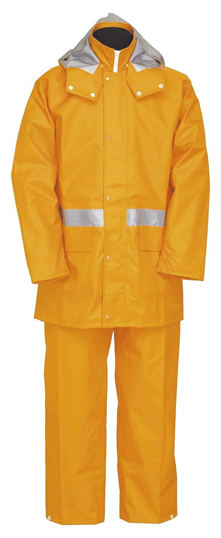 ナダレス スーツ 全2色 全6サイズ レインスーツ オレンジ L 防水透湿 3層レイヤー 収納袋付き 8950 [正規代理店品] B018JRAWXA