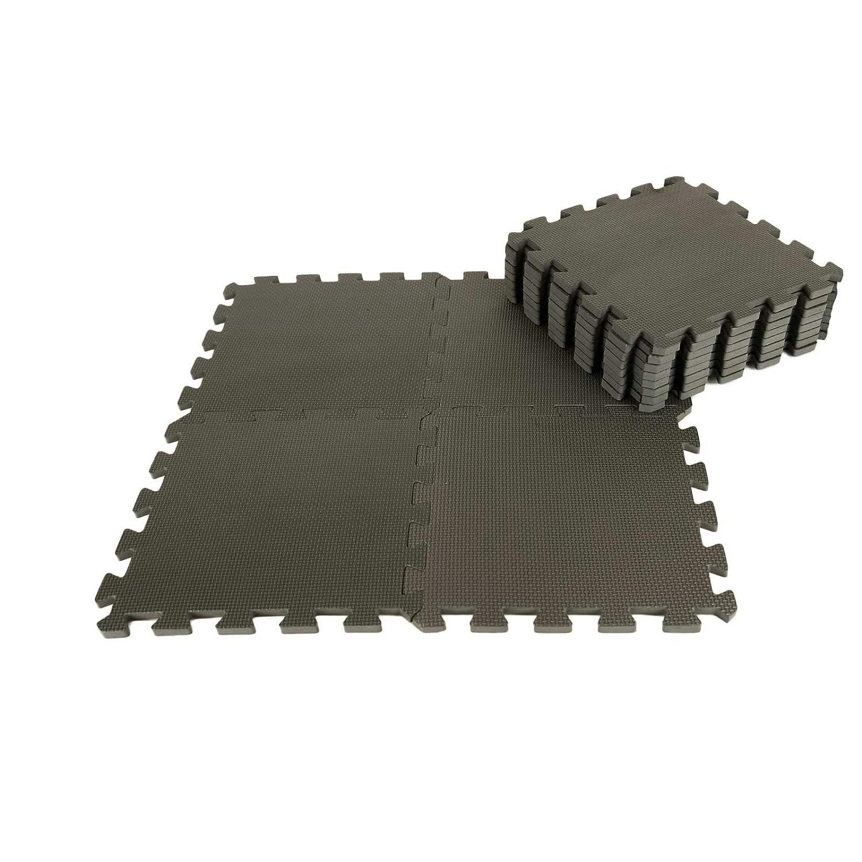 12x12x1//2in 12 Sqft Puzzle Soft Tiles IncStores Foam Equipment Mat 12 Piece