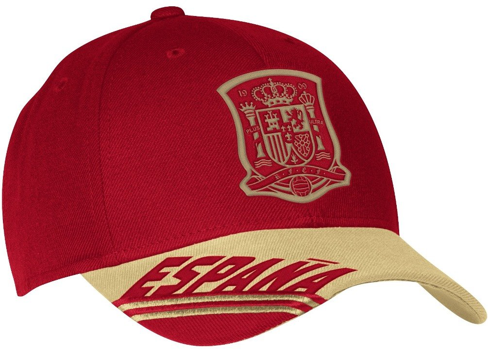 b038b7fb91ee7f Amazon.com : adidas Spain Soccer 2014 FIFA World Cup Underline Script  Adjustable Hat/Cap : Sports & Outdoors