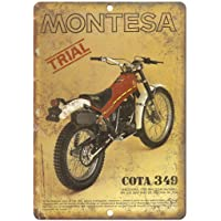 Montesa Trail Bike COTA Póster de Pared Metal