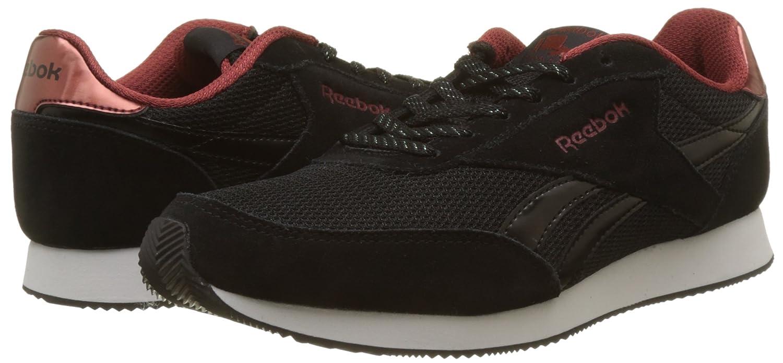 Reebok Damen Royal Classic Jogger Jogger Classic 2 Sneaker Schwarz (schwarz/Rust Met/Weiß) d69ad7
