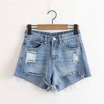 High Kurze Shorts Smx Waist Jeansjeansshorts Denim Sommersexy Mit 4RAjL3q5