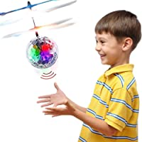 Jouets pour 3-12 ans, TOP cadeau RC Flying Ball Hélicoptère Jouets pour Garçons Filles Enfants Violet TGUKTGFLB05